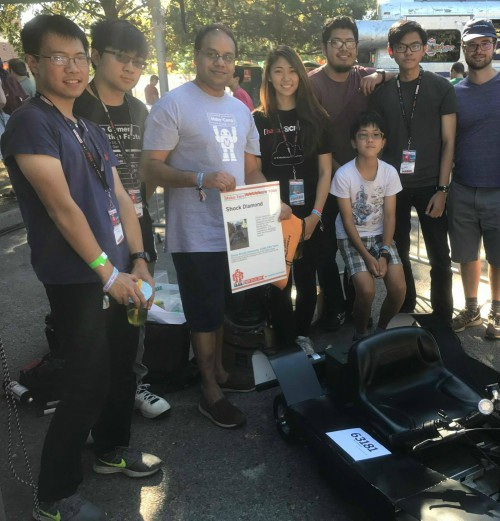 ASME Student Club at the Power Racing Competition