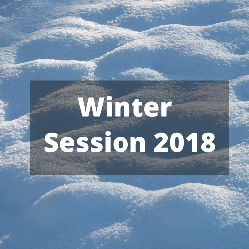 Winter Session 2018