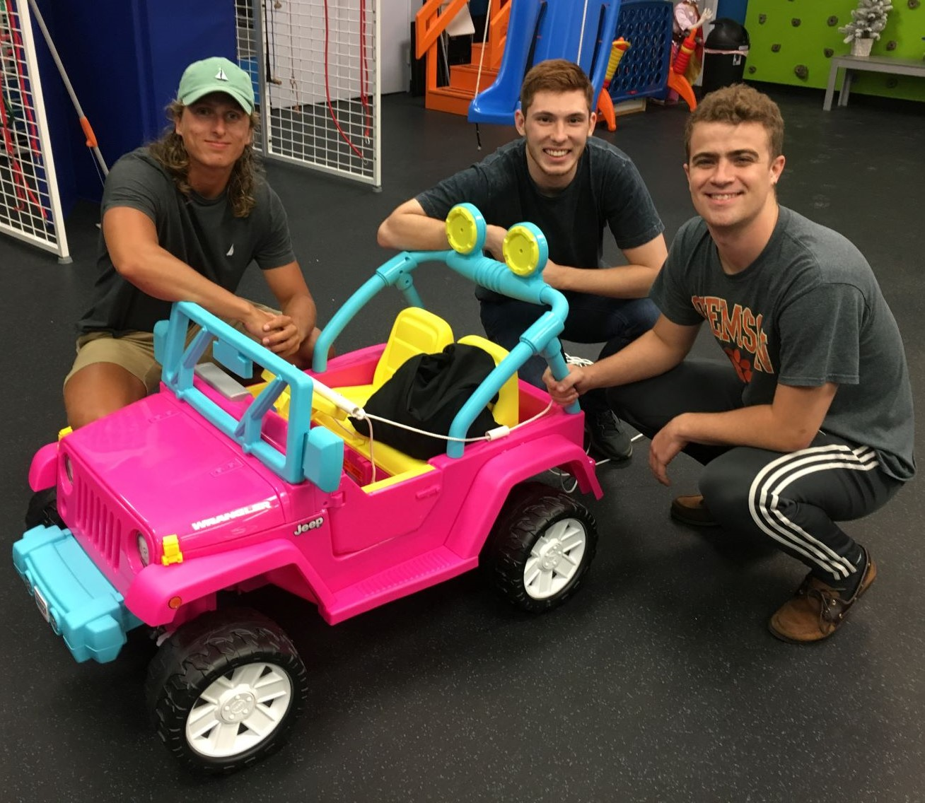 "ASME Students Use Engineering Knowledge for ""Go Baby Go"""